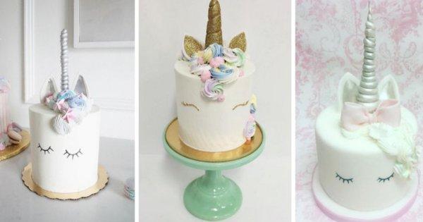 Украшение торта единорог