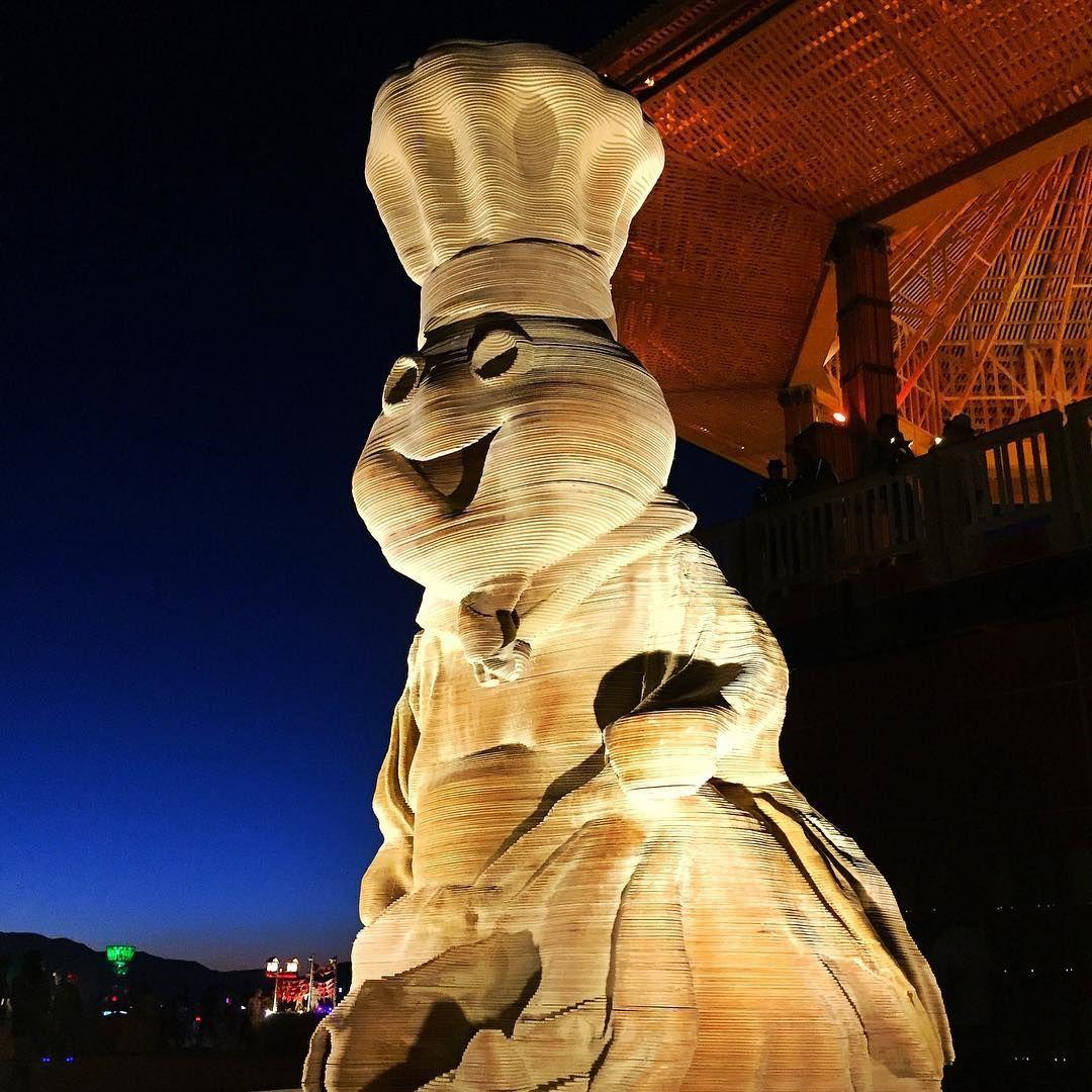 Пилюка, голі тіла та сучасне мистецтво: круті фото з фестивалю Burning Man 2017 - фото 336413
