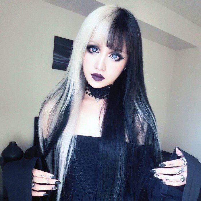 девушка похожа на куколку - 5