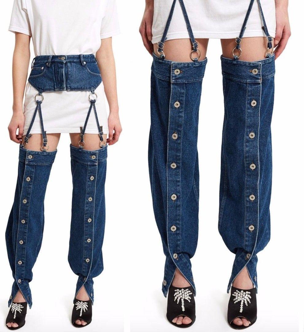 Очередной провал: такие джинсы вряд ли кто-то захочет одеть - фото 338275