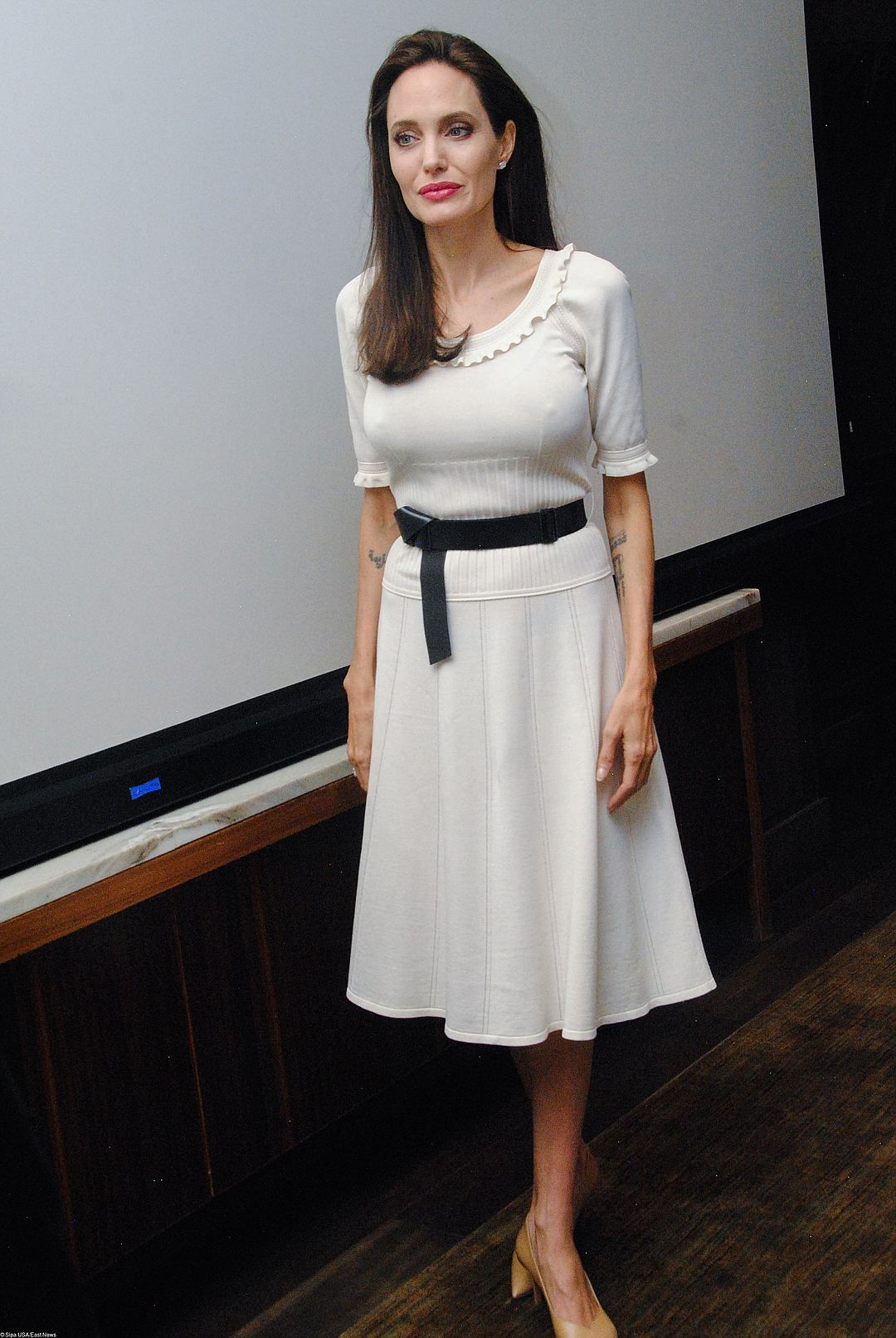 Анджеліна Джолі шокувала худорлявістю і вульгарним образом - фото 336652