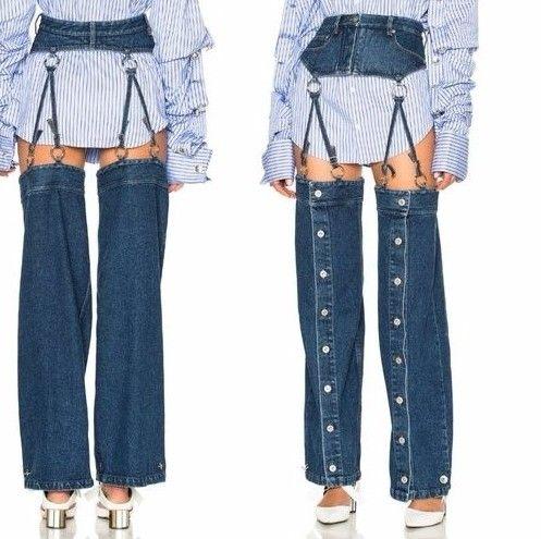 Очередной провал: такие джинсы вряд ли кто-то захочет одеть - фото 338276
