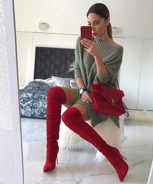 Тренды осени 2017: красный цвет и как его носить - фото 341138