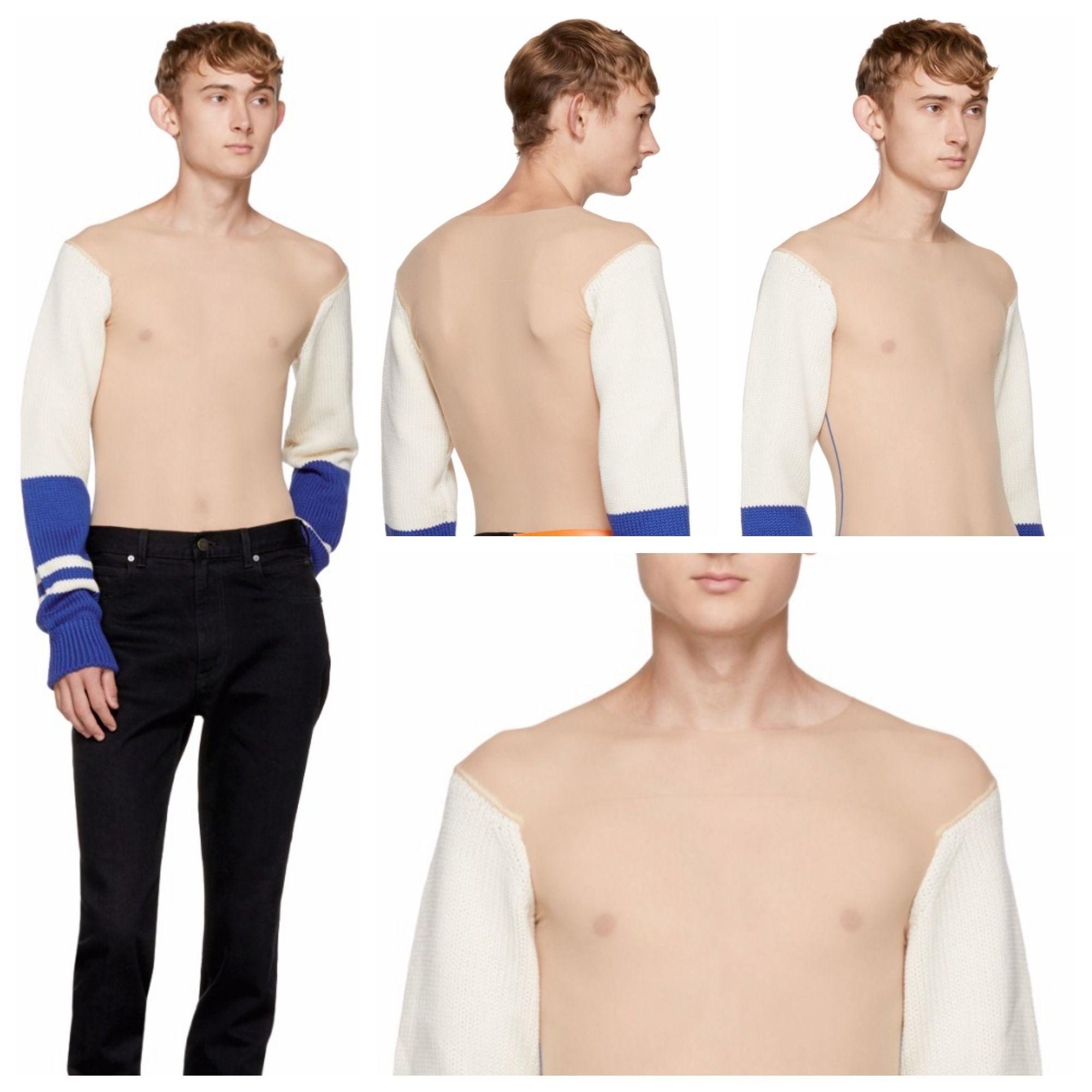 Відомий бренд випустив светр, який дозволить ходити голяка навіть зимою - фото 338463