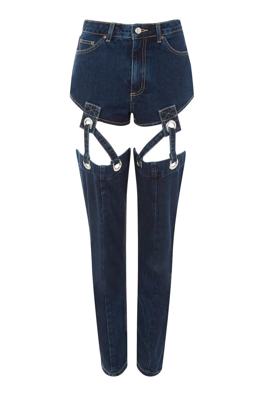 Очередной провал: такие джинсы вряд ли кто-то захочет одеть - фото 338274