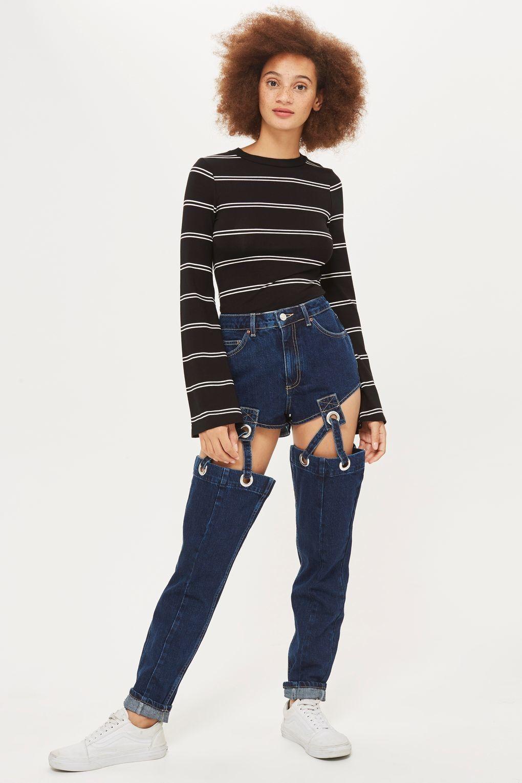 Очередной провал: такие джинсы вряд ли кто-то захочет одеть - фото 338271