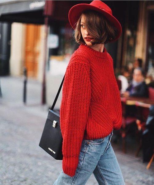 Тренды осени 2017: красный цвет и как его носить - фото 341135