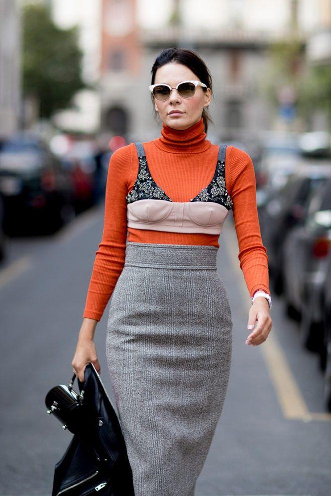 Streetstyle: як модно носити звичайну водолазку - фото 350787