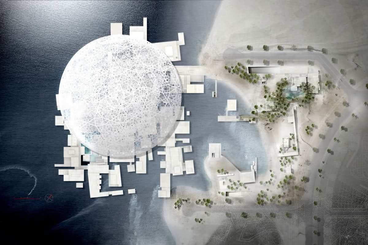 В Абу-Дабі збудували новий Лувр і він вражає своєю красою та розмірами - фото 350981