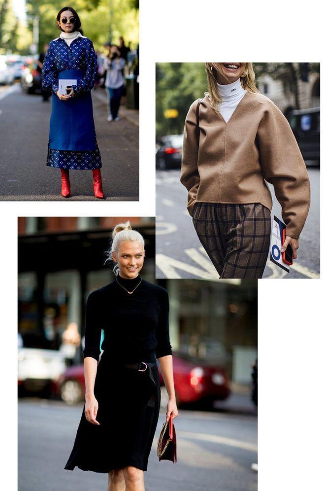 Streetstyle: як модно носити звичайну водолазку - фото 350792