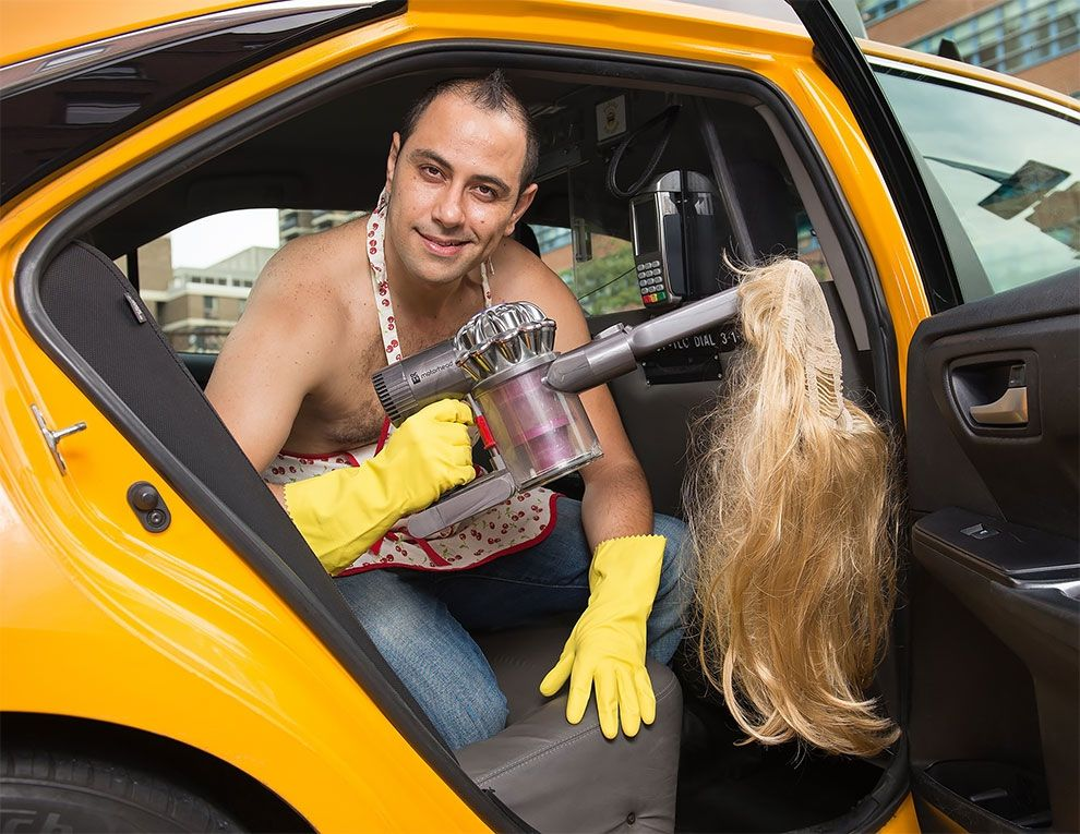Таксисты Нью-Йорка обнажили торсы и снялись для ежегодного календаря - фото 352452