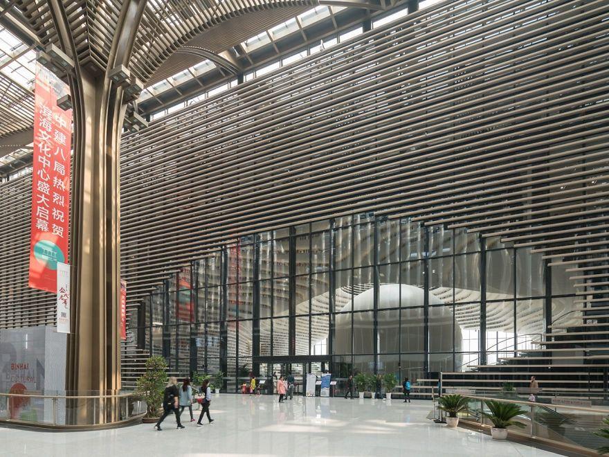 Китайцы открыли библиотеку с 1 миллионом книг и от ее вида перехватывает взгляд дыхание - фото 351020