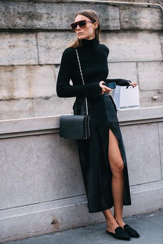 Streetstyle: як модно носити звичайну водолазку - фото 350793