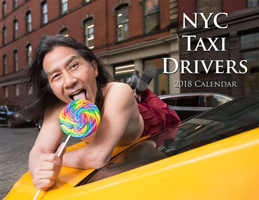 Таксисты Нью-Йорка обнажили торсы и снялись для ежегодного календаря - фото 352444