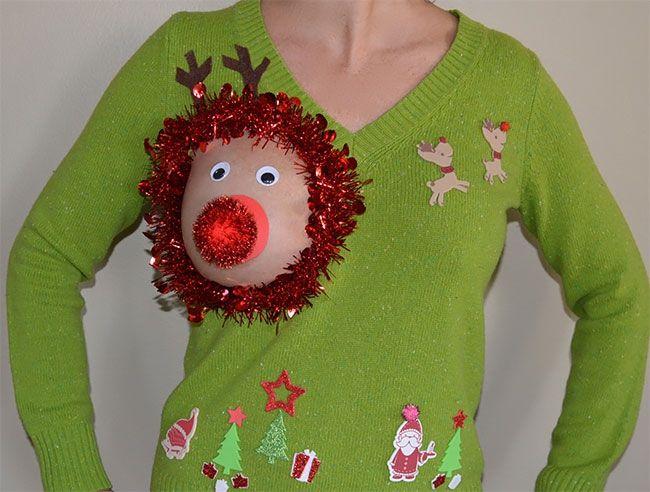 Глупые и пошлые свитера, которые сделают тебя звездой этого Рождества - фото 355165