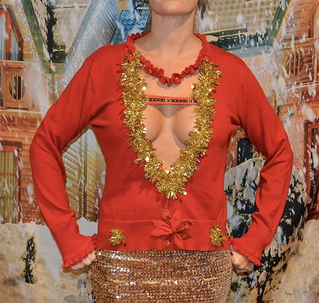 Глупые и пошлые свитера, которые сделают тебя звездой этого Рождества - фото 355175