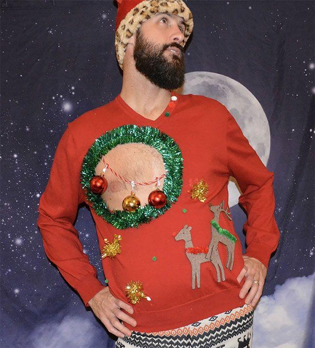 Глупые и пошлые свитера, которые сделают тебя звездой этого Рождества - фото 355171