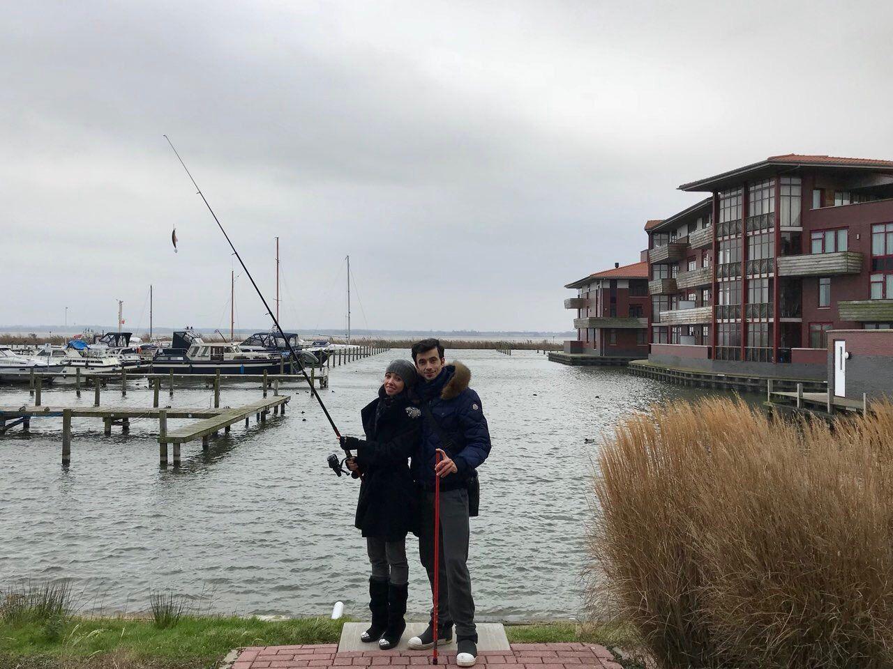 Екатерина Кухар и Александр Стоянов насладились поездкой в Амстердам - фото 357817