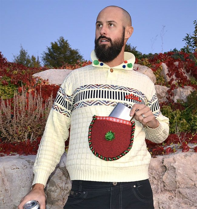 Глупые и пошлые свитера, которые сделают тебя звездой этого Рождества - фото 355168