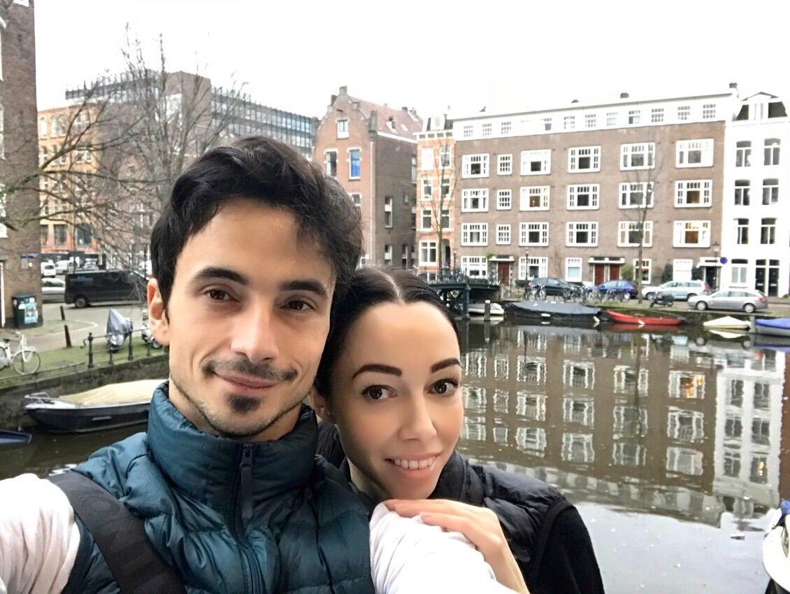 Екатерина Кухар и Александр Стоянов насладились поездкой в Амстердам - фото 357815