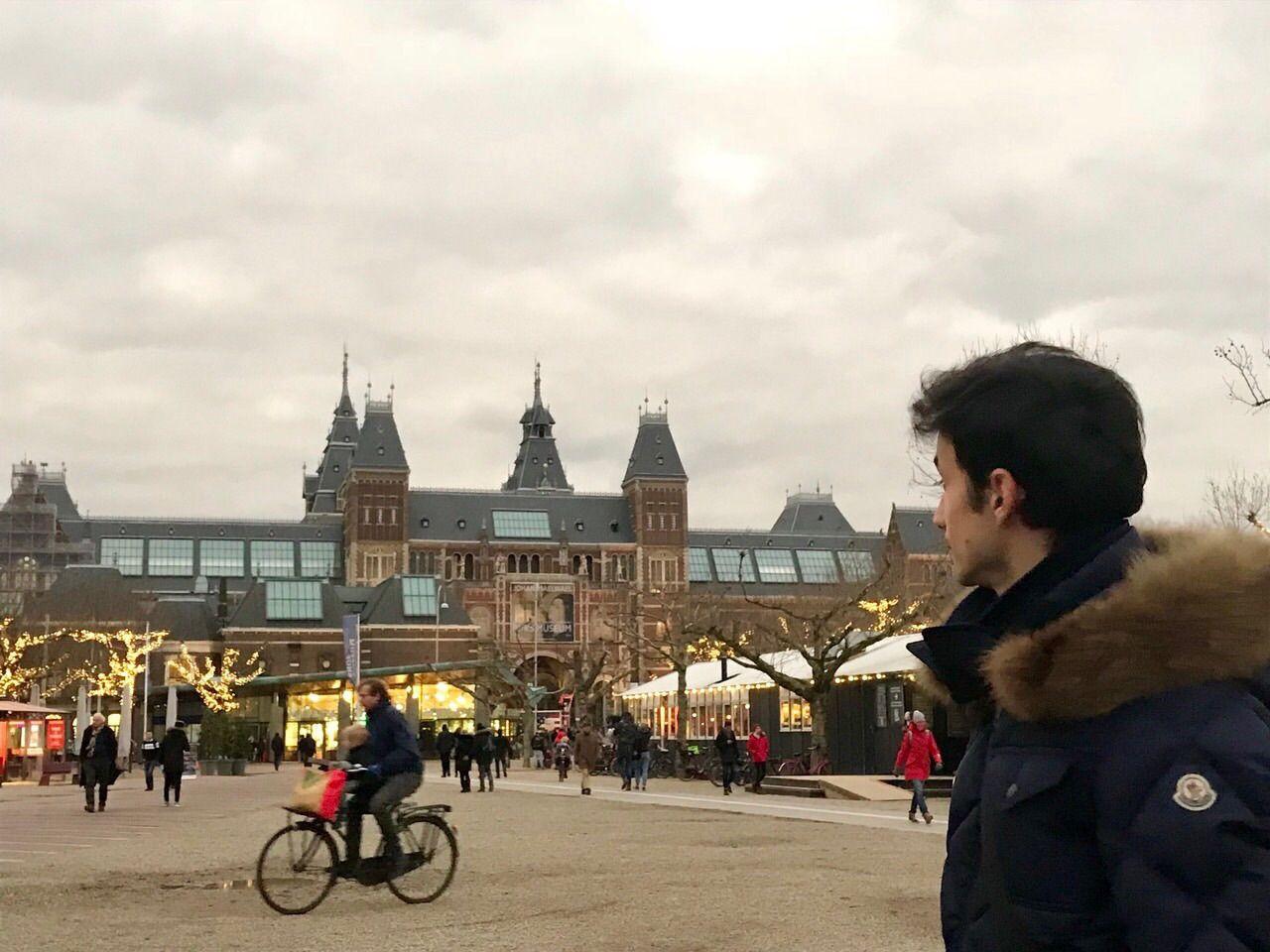 Екатерина Кухар и Александр Стоянов насладились поездкой в Амстердам - фото 357816