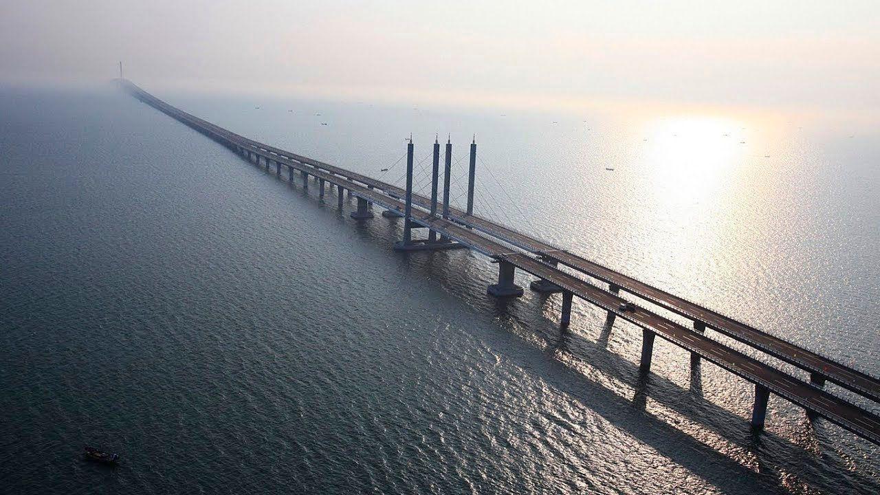 В Китае построили самый длинный мост в мире, и вот, как выглядит это чудо архитектуры - фото 371742