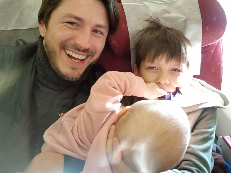 Зірковий татусь Сергій Притула замилував знімками з малечею - фото 371542