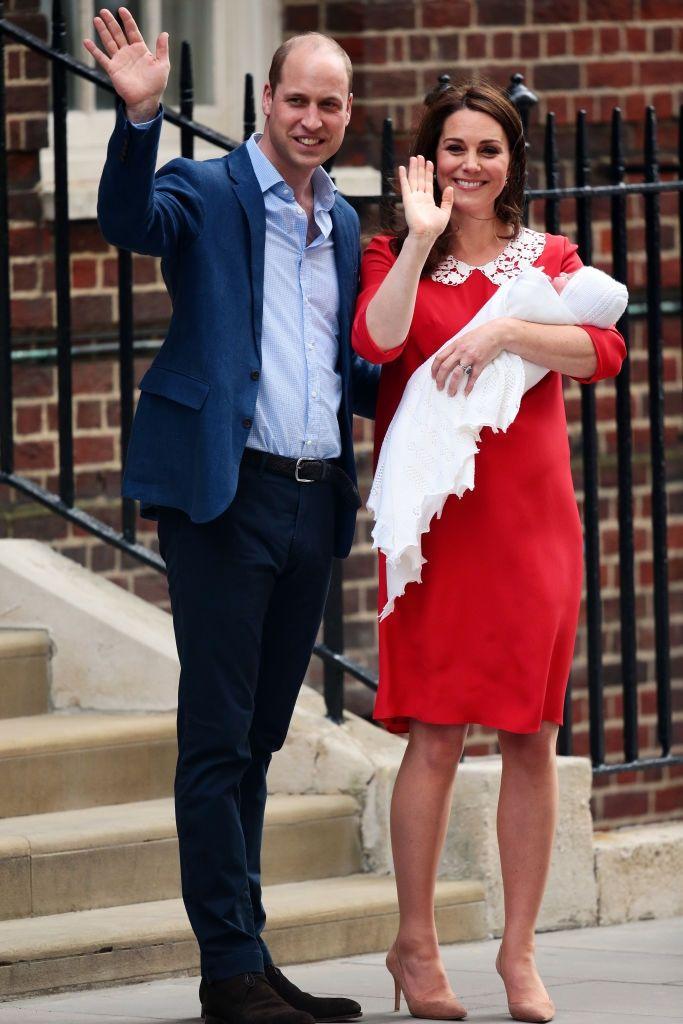 Кейт Міддлтон народила сина та вперше показала новонародженого (фото) - фото 380724