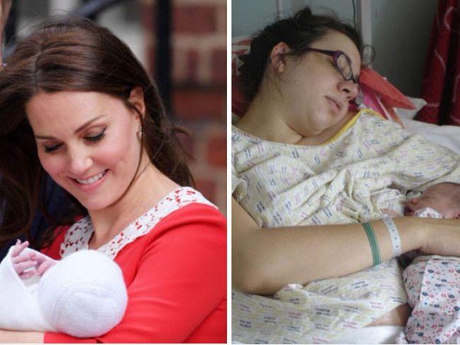 Пародии дня: женщины высмеяли идеальный вид Кейт Миддлтон после родов - фото 381681