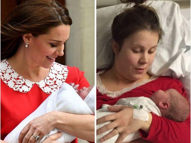 Пародии дня: женщины высмеяли идеальный вид Кейт Миддлтон после родов - фото 381682