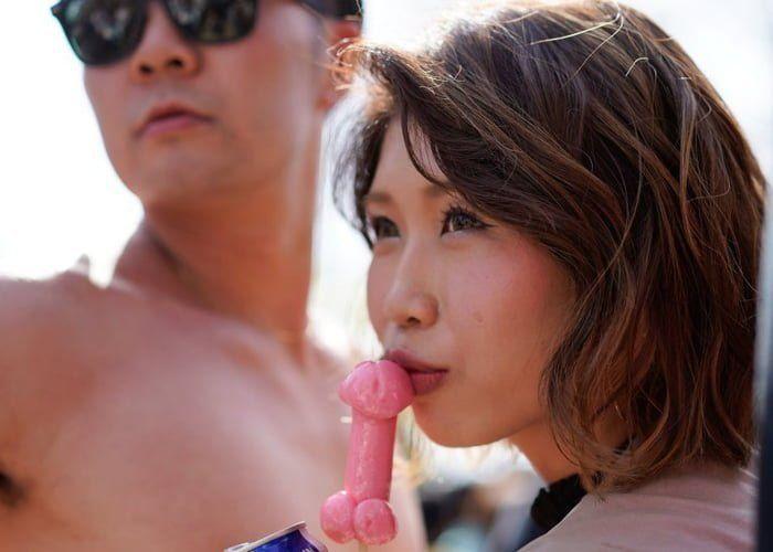 Японский фестиваль пенисов - праздник, который вы никогда не забудете - фото 378293