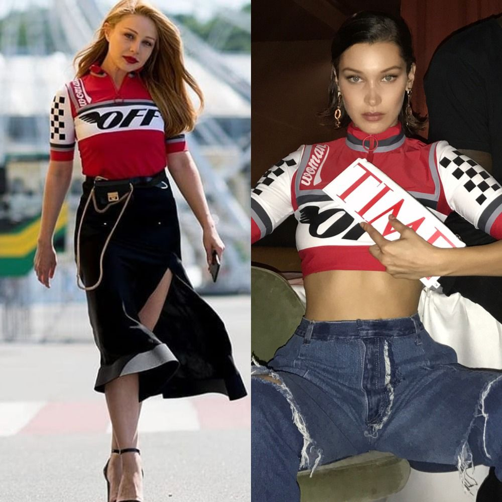 Кто кого: Тина Кароль и Белла Хадид одели одинаковые топы от известного дизайнера - фото 386632