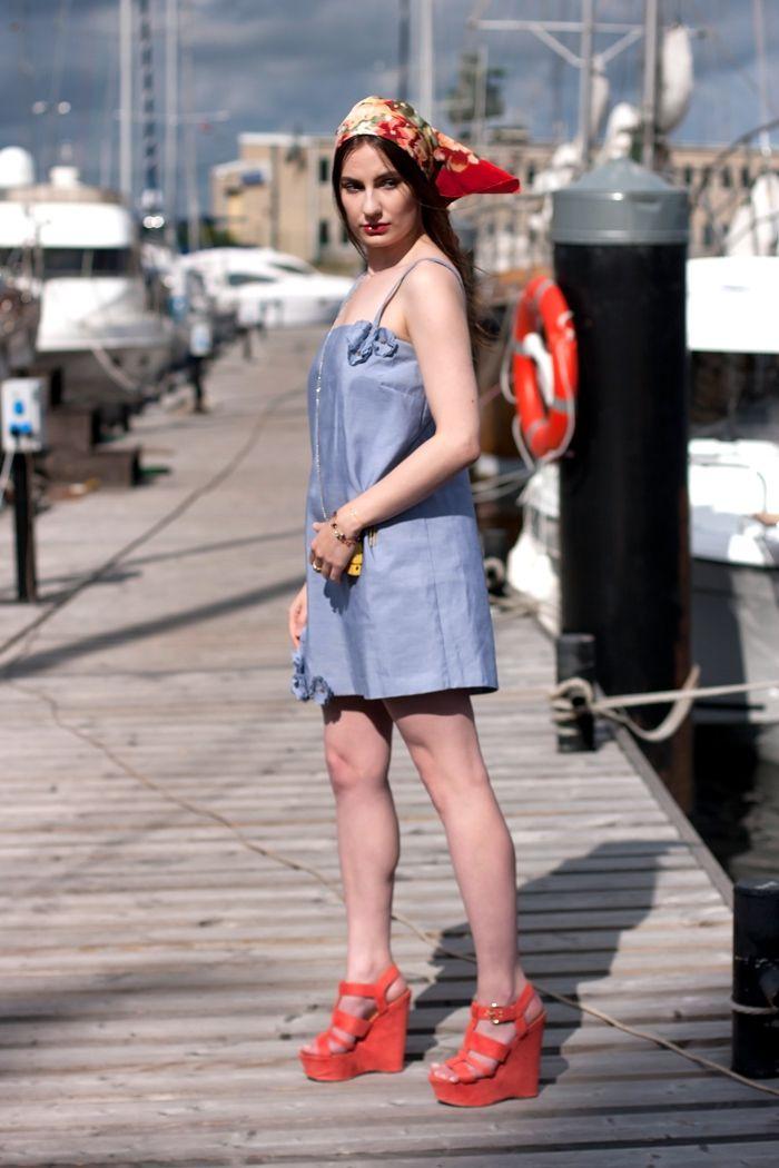 Як модно носити сарафан влітку 2018 року - фото 383955