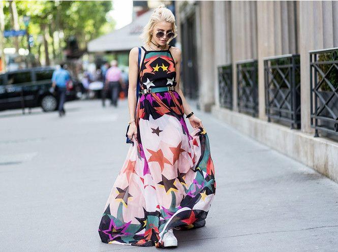 Як модно носити сарафан влітку 2018 року - фото 383947