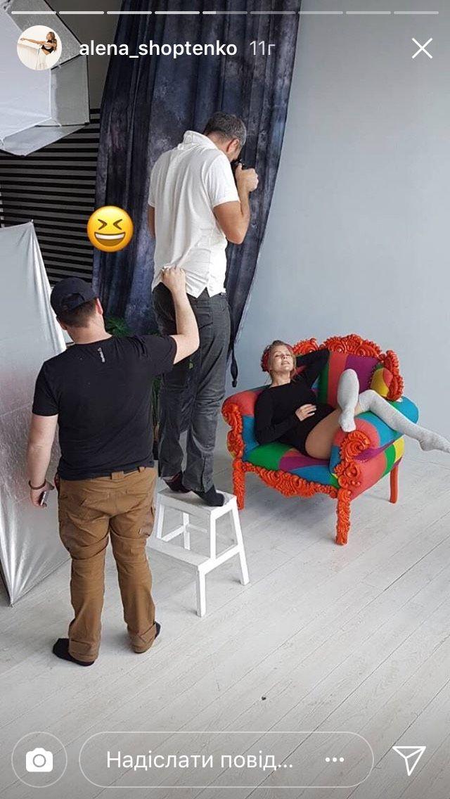 Алена Шоптенко показала бэкстейдж со съемок нежной фотосессии с животиком - фото 385433