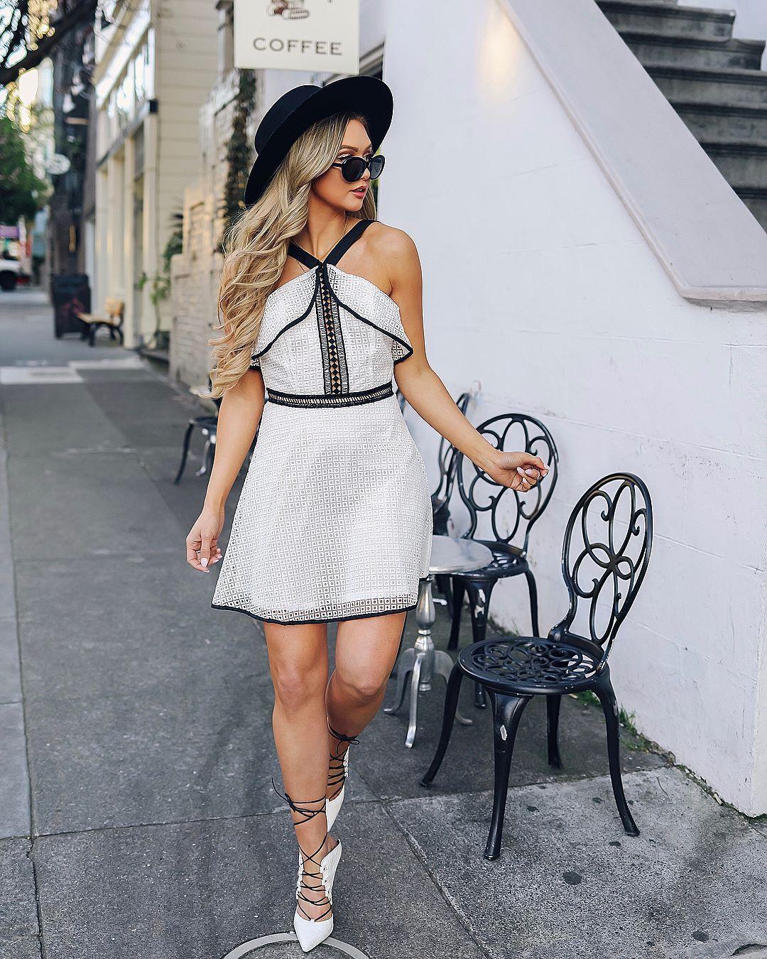 Як модно носити сарафан влітку 2018 року - фото 383956