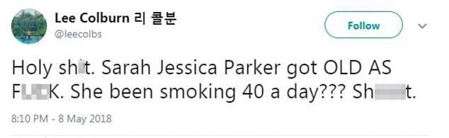 Сару Джессику Паркер раскритиковали за ее старость - фото 383637
