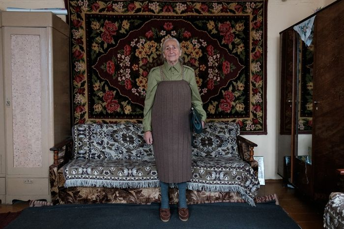Королева стиля: 91-летняя бабушка из Беларуси покорит вас своей одеждой - фото 388246