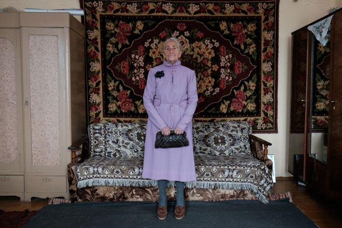 Королева стиля: 91-летняя бабушка из Беларуси покорит вас своей одеждой - фото 388249