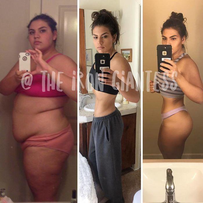 140-кілограмова дівчина довела, що стати гарячою крихіткою абсолютно реально - фото 391396