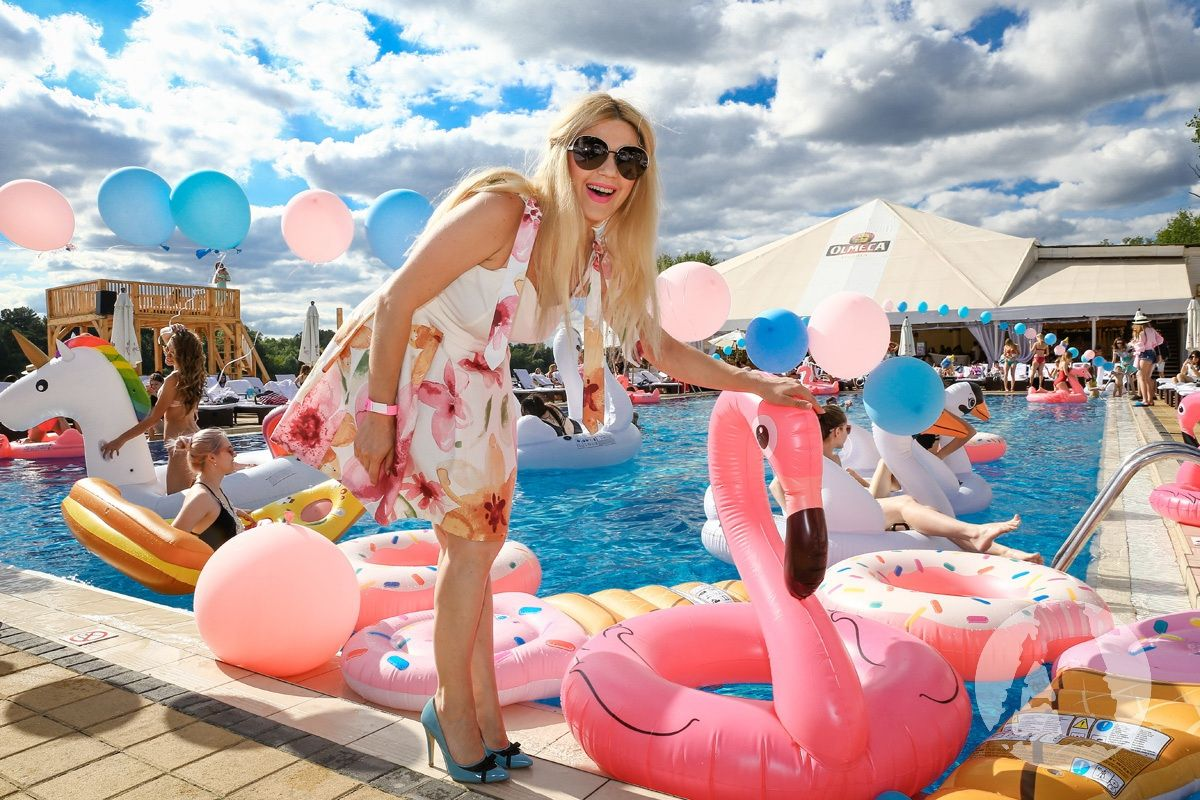 Flamingo pool party - фото 391895