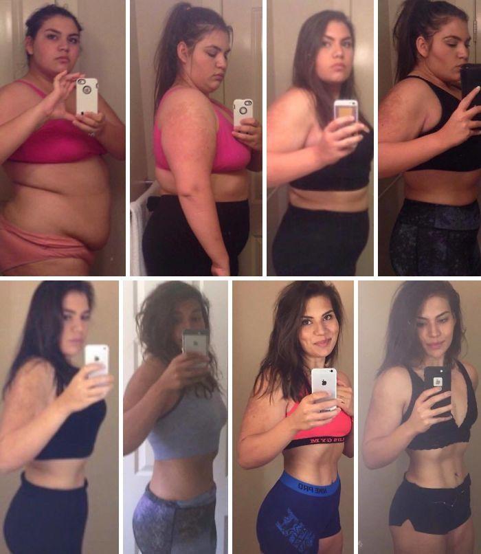 140-кілограмова дівчина довела, що стати гарячою крихіткою абсолютно реально - фото 391397