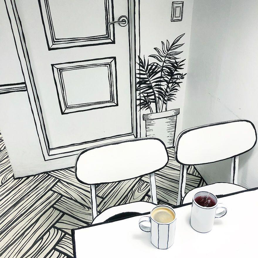 Такого ще не було: відкрили кафе, в якому здається, наче ти всередині мультика - фото 404757