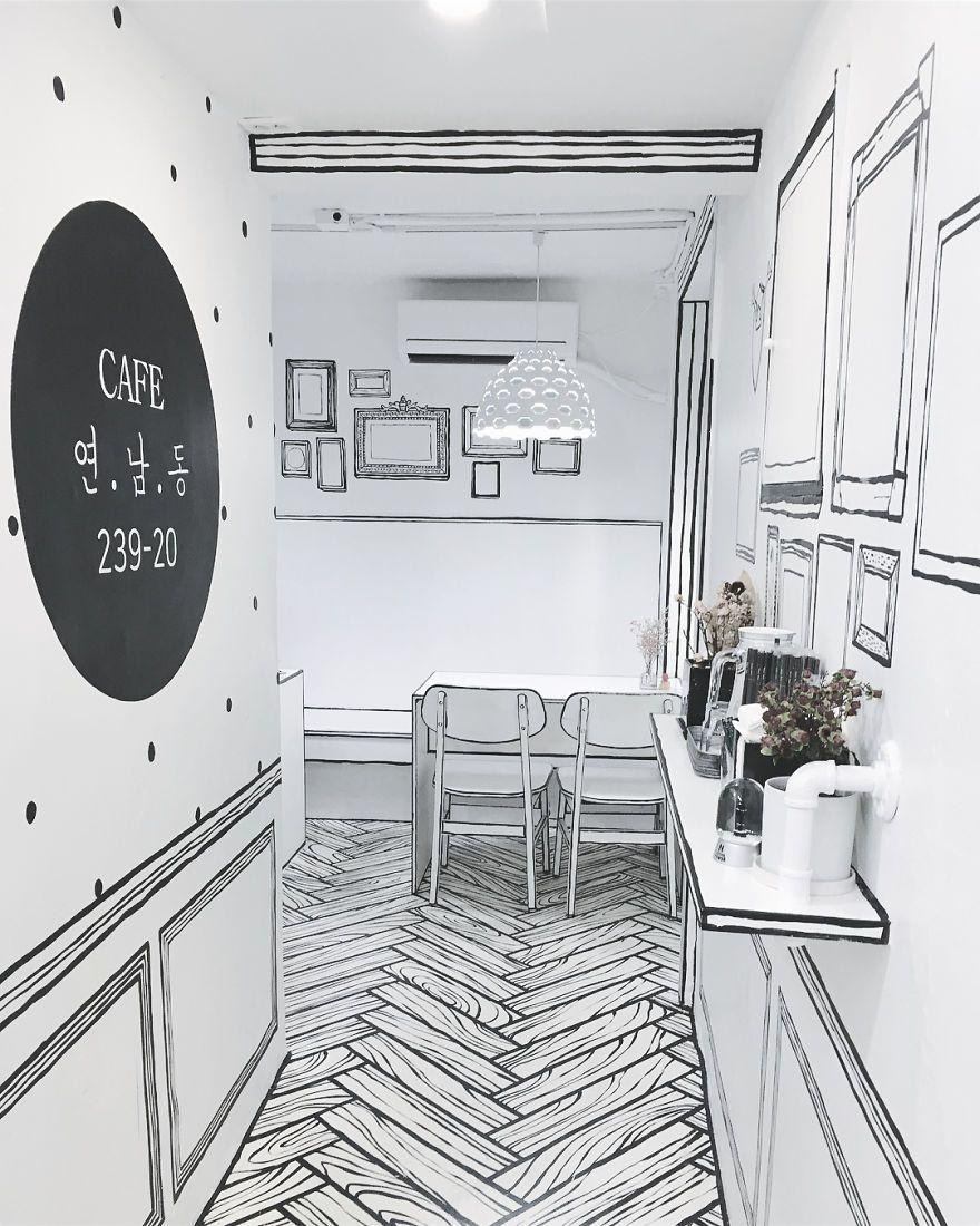Такого ще не було: відкрили кафе, в якому здається, наче ти всередині мультика - фото 404761