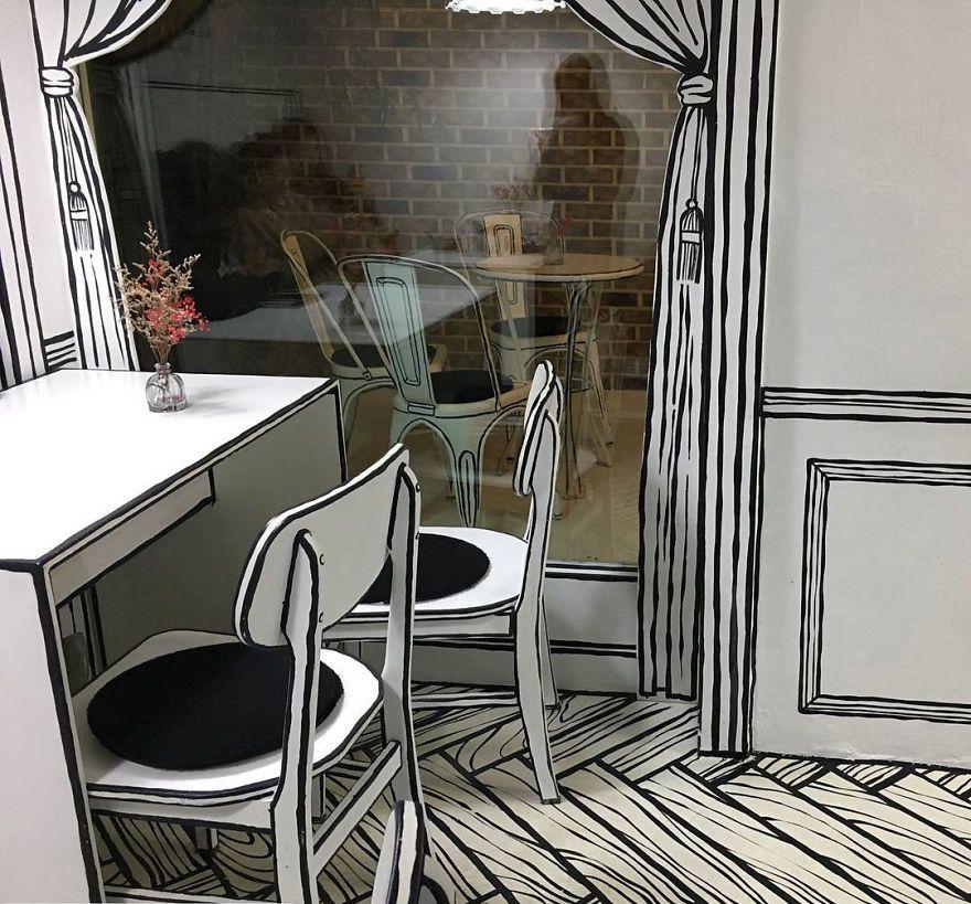 Такого ще не було: відкрили кафе, в якому здається, наче ти всередині мультика - фото 404763