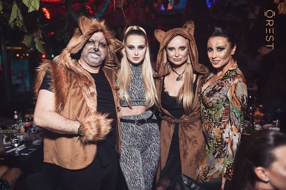 Украинские звезды развлеклись на знаменитой хеллоуинской вечеринке Николая Тищенко - фото 410320