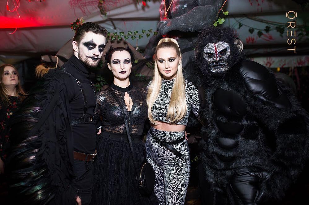 Украинские звезды развлеклись на знаменитой хеллоуинской вечеринке Николая Тищенко - фото 410324