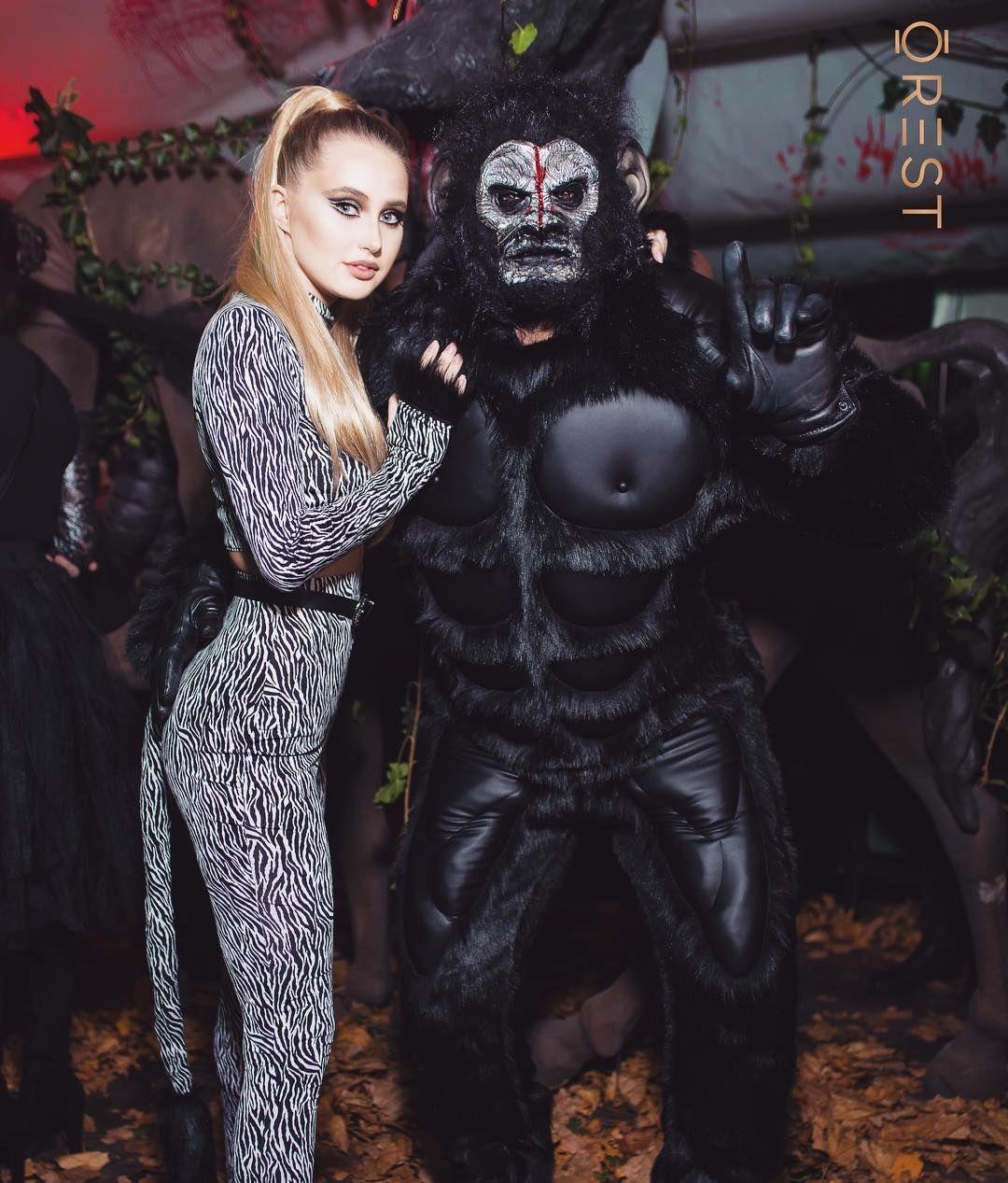 Украинские звезды развлеклись на знаменитой хеллоуинской вечеринке Николая Тищенко - фото 410331