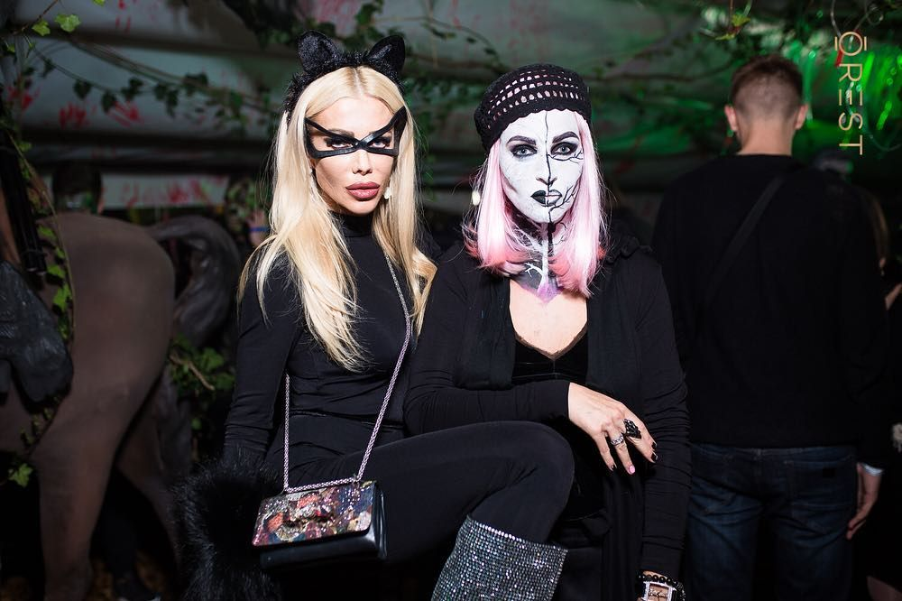 Украинские звезды развлеклись на знаменитой хеллоуинской вечеринке Николая Тищенко - фото 410333
