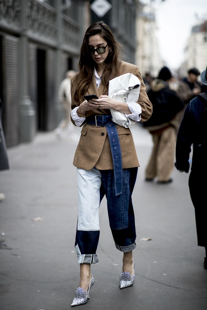 О, эта высокая мода: уличный стиль-вдохновение на улицах Парижа - фото 419569